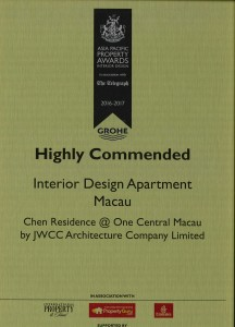 Asia Pacific Property 2016-17 Cert -One Central MacauM